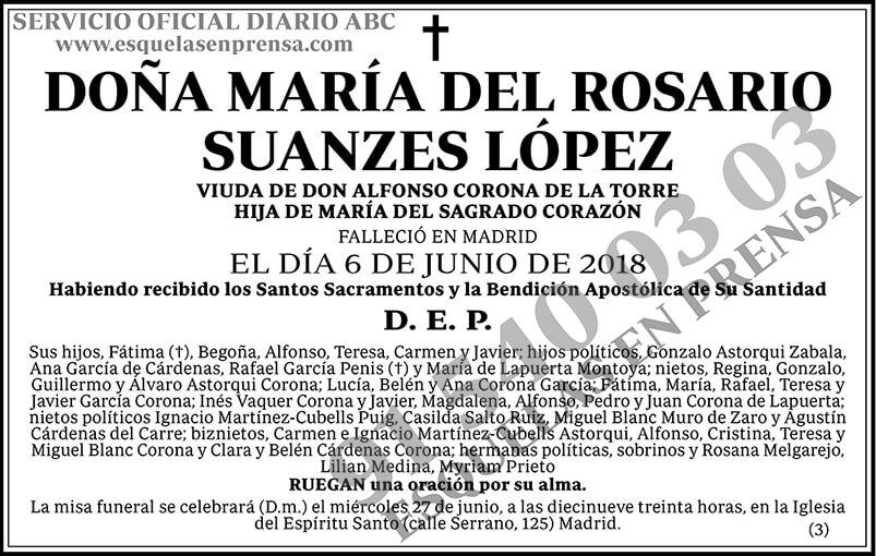 María del Rosario Suanzes López